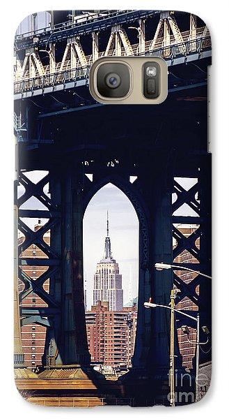 Empire Framed Galaxy S7 Case by Joan McCool