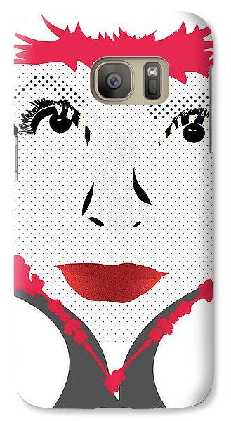 Empress Red Galaxy S7 Case