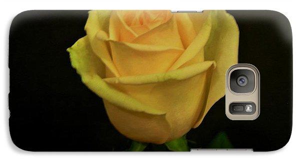 Galaxy Case featuring the photograph Empress Rose by Marsha Heiken