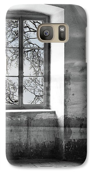 Galaxy Case featuring the photograph Emptiness by Munir Alawi