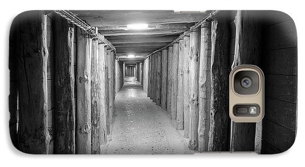 Galaxy Case featuring the photograph Empty Corridor by Juli Scalzi