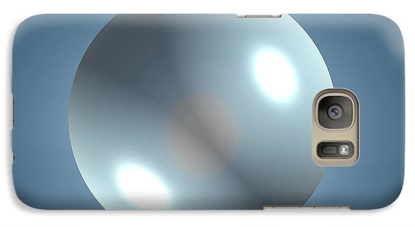 Galaxy Case featuring the photograph Empyty Logotype by Beto Machado