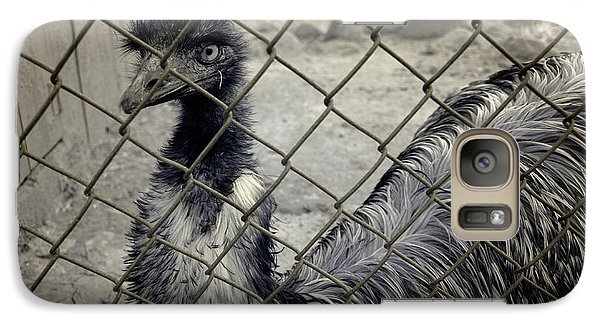 Emu At The Zoo Galaxy S7 Case