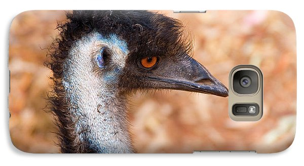 Emu Profile Galaxy S7 Case by Mike  Dawson