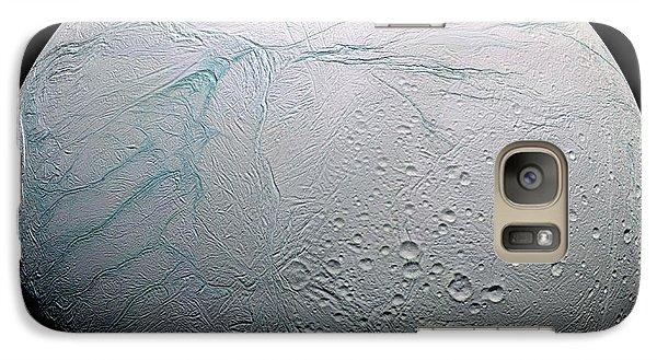 Galaxy Case featuring the photograph Enceladus Hd by Adam Romanowicz