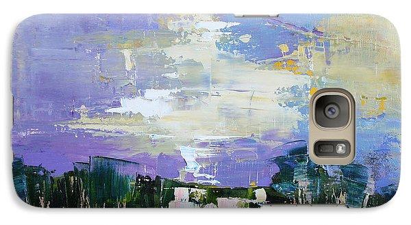Galaxy Case featuring the painting Enchanted  by Anastasija Kraineva