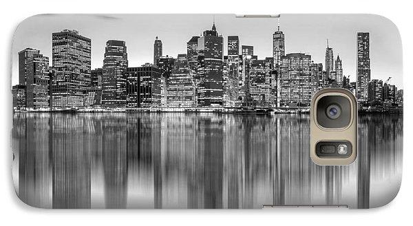 Great White Shark Galaxy S7 Case - Enchanted City by Az Jackson