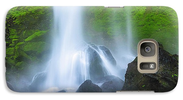 Galaxy Case featuring the photograph Enchanted Elowah by Mike Lang