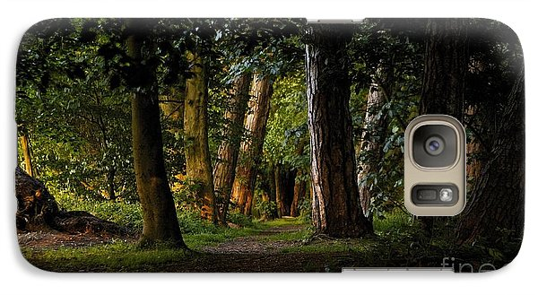 Galaxy Case featuring the photograph Enchanted  by Gary Bridger