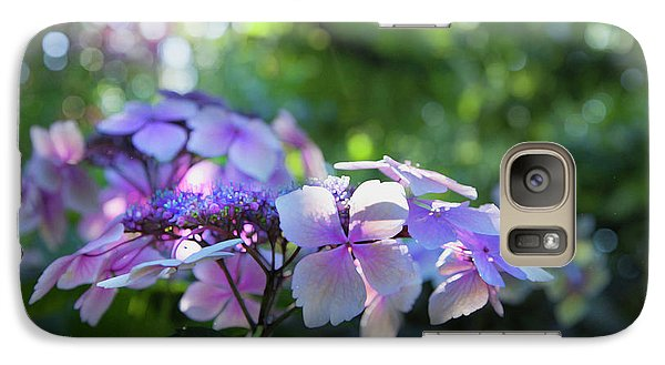 Galaxy Case featuring the photograph Enchanted Hydrangea by Theresa Tahara