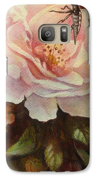 Galaxy Case featuring the painting Enchanted by Patricia Schneider Mitchell