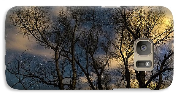 Galaxy Case featuring the photograph Enchanting Night by James BO Insogna
