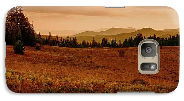 Galaxy Case featuring the photograph End Of Day by Frank Wilson
