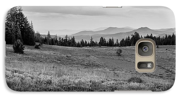 Galaxy Case featuring the photograph End Of Day In B W by Frank Wilson