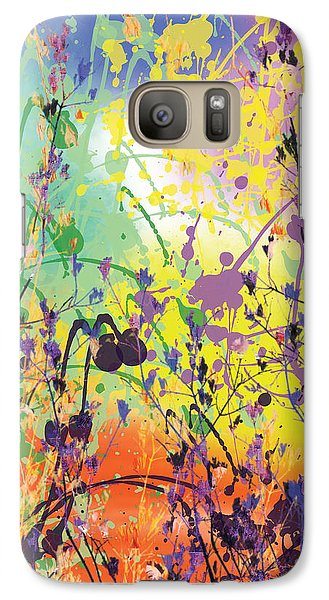 Galaxy Case featuring the digital art End Of Summer 2015 by Trilby Cole