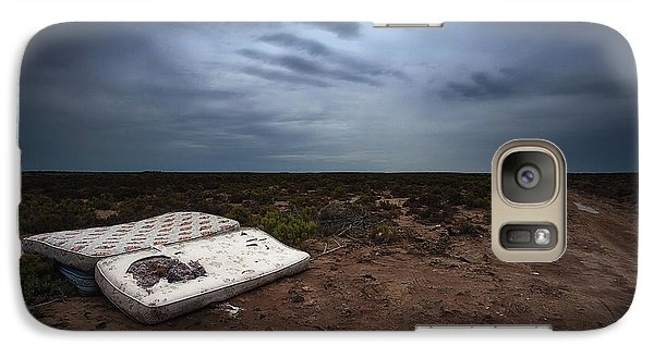 Galaxy Case featuring the photograph End Of The Earth by Tim Nichols