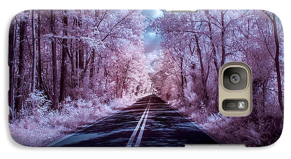 Galaxy Case featuring the photograph End Of The Road by Louis Ferreira