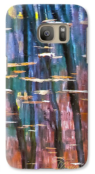 Galaxy Case featuring the photograph Enders Reflection by Tom Cameron
