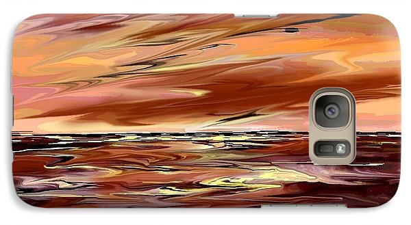 Galaxy Case featuring the digital art Endless by Desline Vitto