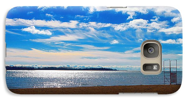 Galaxy Case featuring the photograph Endless Sky by Valentino Visentini