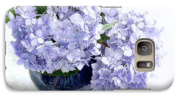 Galaxy Case featuring the photograph Endless Summer Hydrangea Still Life by Louise Kumpf