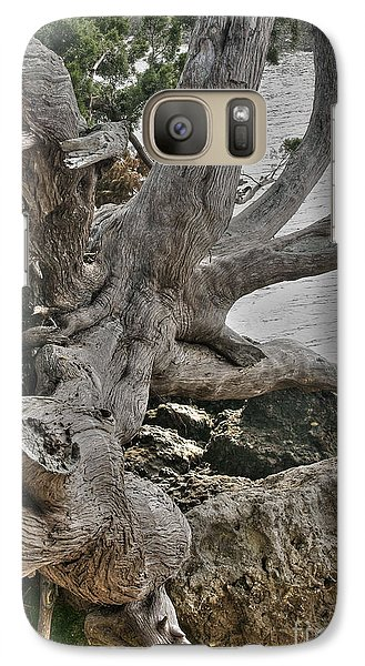 Galaxy Case featuring the photograph Endure by Rebecca Hiatt