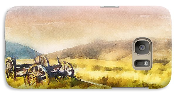 Galaxy Case featuring the painting Enduring Courage by Greg Collins