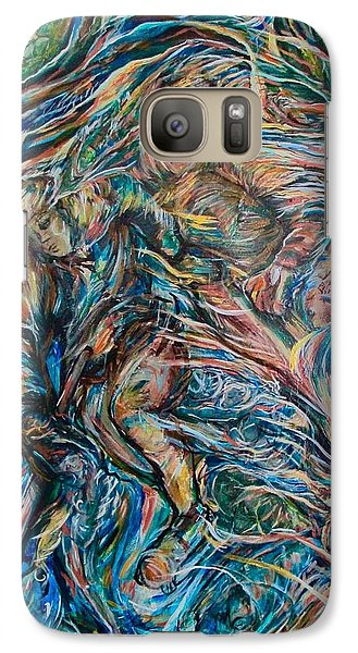 Galaxy Case featuring the painting Energy by Dawn Fisher