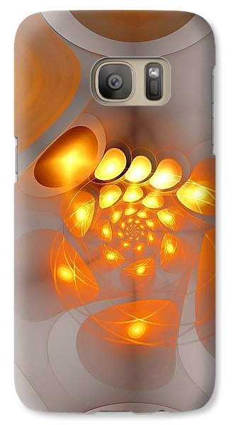 Galaxy Case featuring the digital art Energy Source by Anastasiya Malakhova