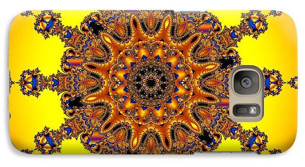 Galaxy Case featuring the digital art Energy Star by Robert Orinski