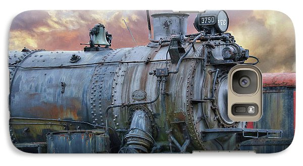 Galaxy Case featuring the photograph Engine 3750 by Lori Deiter