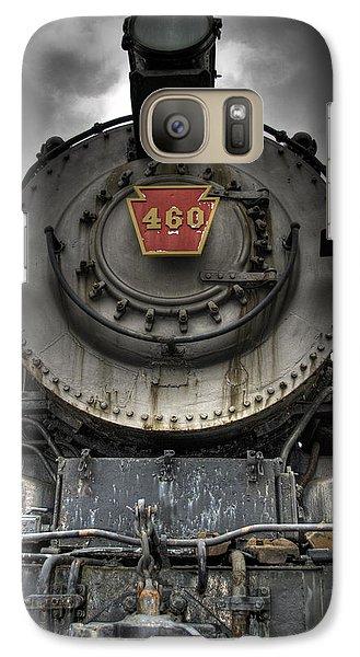 Train Galaxy S7 Case - Engine 460 Front And Center by Scott Wyatt