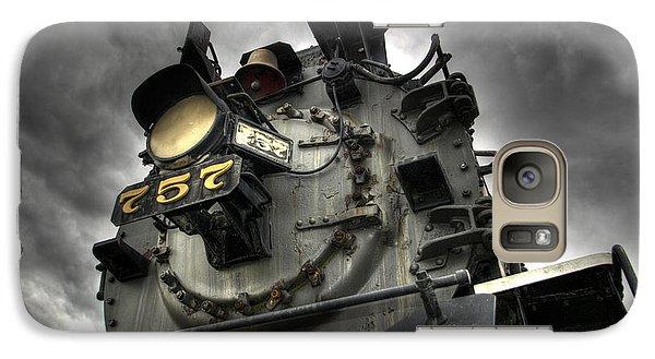 Train Galaxy S7 Case - Engine 757 by Scott Wyatt