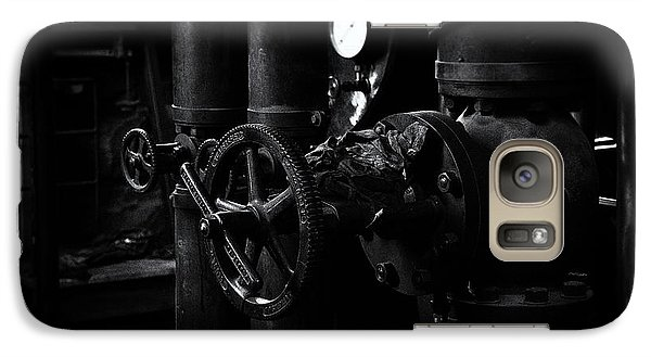 Galaxy Case featuring the photograph Engine Room by Tim Nichols