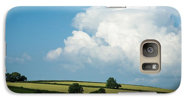 Galaxy Case featuring the photograph English Countryside In Summer by Jan Bickerton