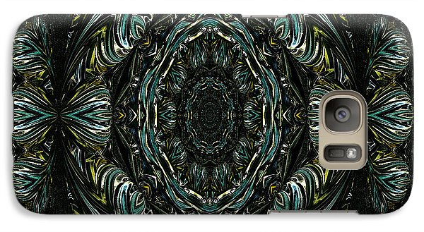 Galaxy Case featuring the photograph Enigma. Special For August by Oksana Semenchenko