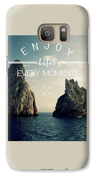 Venice Beach Galaxy S7 Case - Enjoy Life Every Momens by Mark Ashkenazi