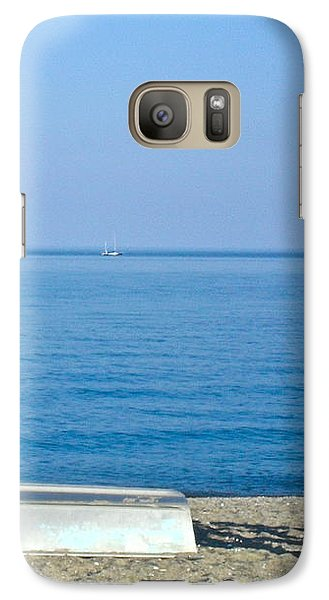 Galaxy Case featuring the photograph Enjoy The Beach by Beth Saffer