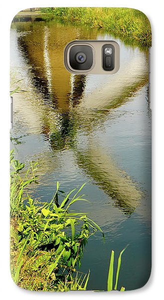 Galaxy Case featuring the photograph Enkhuizen Windmill by KG Thienemann