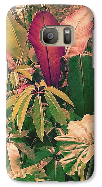 Galaxy Case featuring the photograph Enlightened Jungle by Rebecca Harman