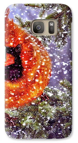 Galaxy Case featuring the photograph Enough Of This White Stuff by Diane Schuster