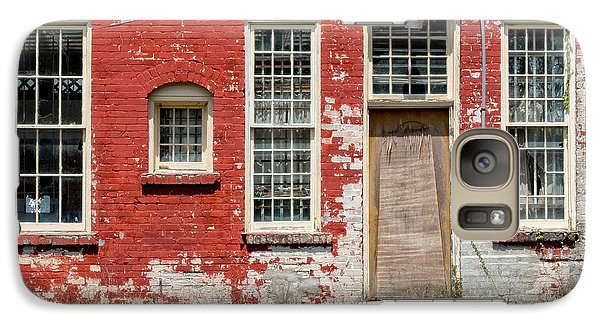 Galaxy Case featuring the photograph Enough Windows by Christopher Holmes