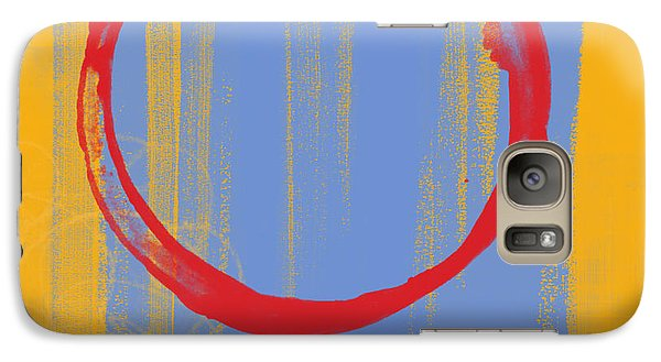 Galaxy Case featuring the painting Enso by Julie Niemela