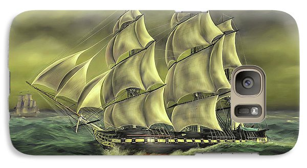 Galaxy Case featuring the painting Ensuring Liberty by Dave Luebbert