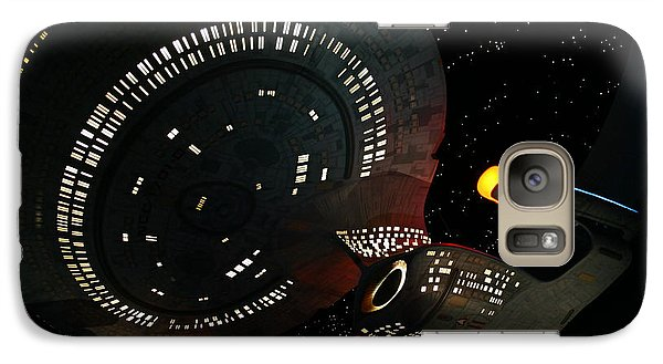 Galaxy Case featuring the photograph Enterprise by Kristin Elmquist
