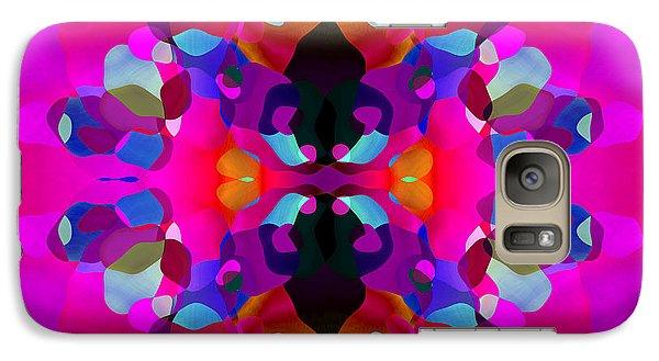Galaxy Case featuring the digital art Enthusiasm by Lynda Lehmann