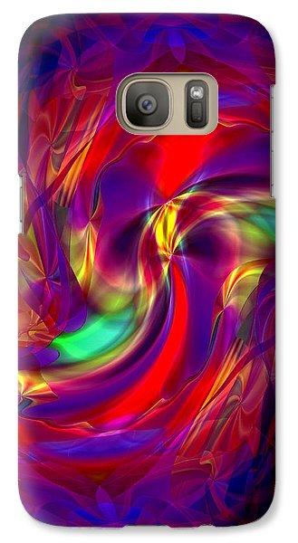Galaxy Case featuring the digital art Entity by Lynda Lehmann