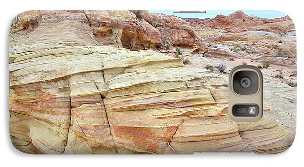 Galaxy Case featuring the photograph Entrance To Wash 3 In Valley Of Fire by Ray Mathis
