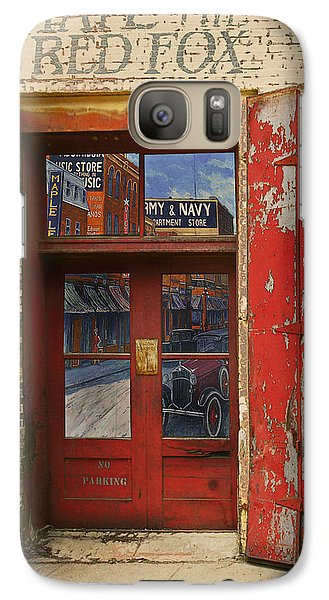 Galaxy Case featuring the photograph Entry Into The Past by Jeff Burgess