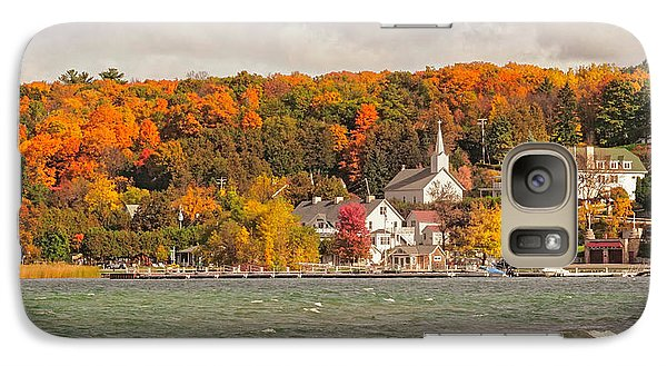 Galaxy Case featuring the photograph Ephraim Wisconsin In Door County by Heidi Hermes